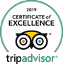 Green and Yellow tripadvisor logo