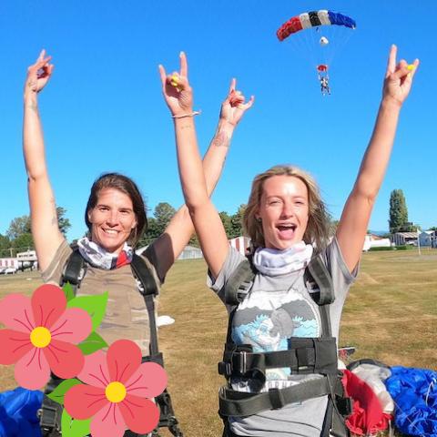 Jump Together – 2 Tandem Skydives