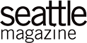 Seattle magazine grey and white logo.