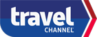 travel channel logo with blue an red